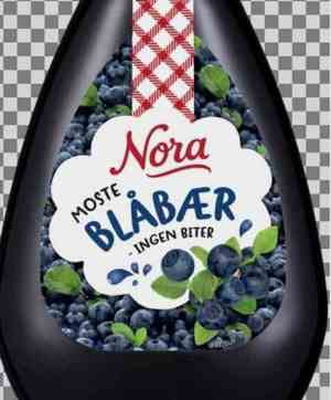 Prøv også Nora Blåbærsyltetøy Squeezy.