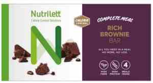 Prøv også Nutrilett brownie bars.