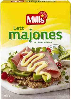 Prøv også Mills lett majones.