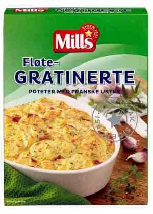 Prøv også Mills fløtegratinerte poteter med franske urter.