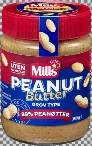 Prøv også Mills Peanut Butter.