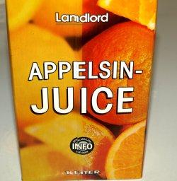 Prøv også Landlord Appelsinjuice.