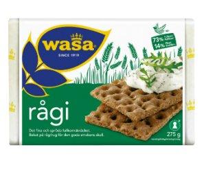 Prøv også Wasa Rågi.