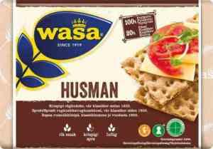 Les mer om Wasa husman hos oss.