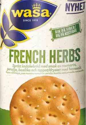 Prøv også Wasa French herbs.