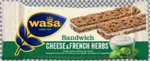 Prøv også Wasa Sandwich french herbs.