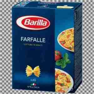 Prøv også Barilla Farfalle.