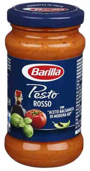 Prøv også Barilla pesto calabrese.