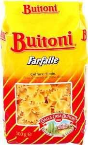 Prøv også Buitoni Farfalle.