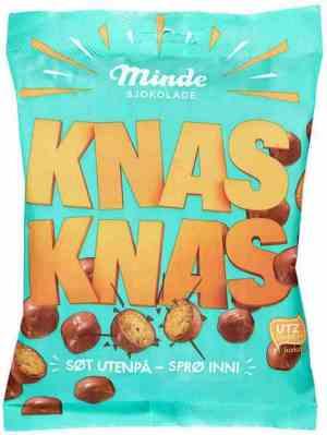 Prøv også Minde sjokolade Knaz Maiscrisp.