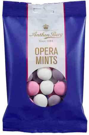 Prøv også Anthon Berg opera mints.