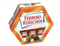 Prøv også Ferrero Küsschen.