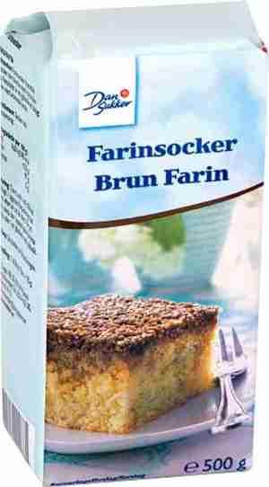 Prøv også Dansukker Brun Farin.