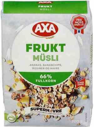 Prøv også AXA Fruktmusli.