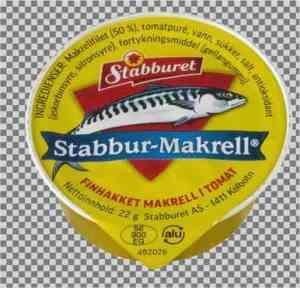 Prøv også Stabbur finhakket makrellfilet i tomatsaus porsjonspakning.