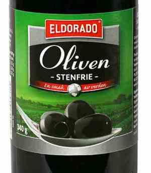 Prøv også Eldorado oliven sort steinfri.
