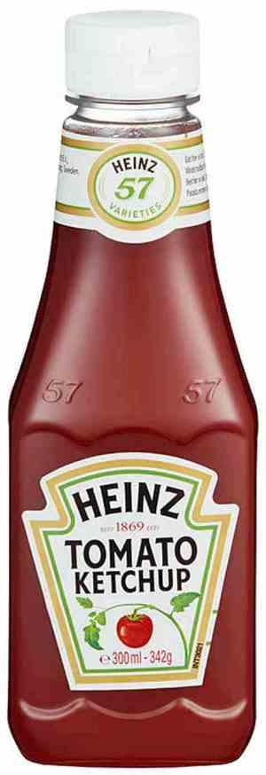 Prøv også Heinz Tomatketchup.