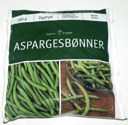 Les mer om Aspargesb�nner frosne hos oss.