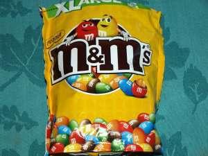 Prøv også Mars M&M peanut.