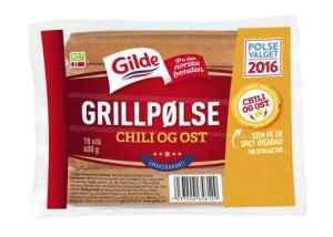 Prøv også Gilde chilipølse med ost.