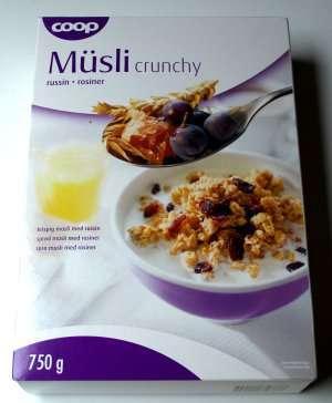 Prøv også Coop Musli Crunchy Rosin.