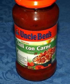 Prøv også Uncle Bens Chili Con Carne.
