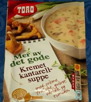 Prøv også Toro kremet kantarellsuppe tilberedt.