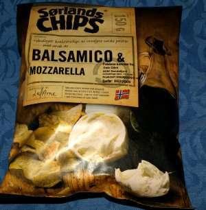 Prøv også Sørlandschips med balsamico og mozzarella.