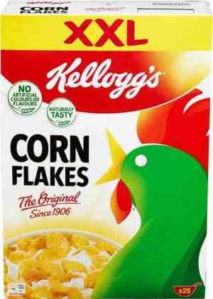 Prøv også Kelloggs Corn Flakes.