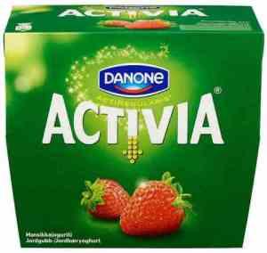 Prøv også Danone Activia Jordbær.