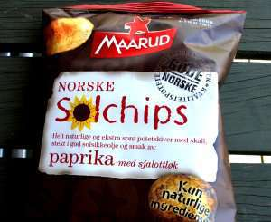 Prøv også Maarud solchips paprika med sjalottlauk.
