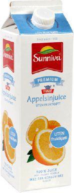 Prøv også Tine Sunniva Premium Appelsinjuice uten fruktkjøtt.