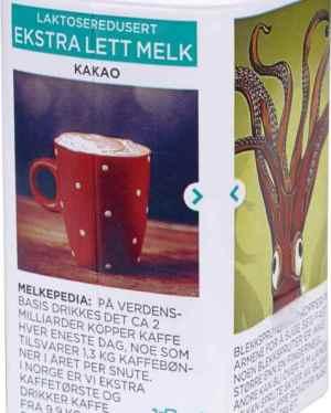 Prøv også Tine Ekstra Lett Melk Mild kakaosmak.