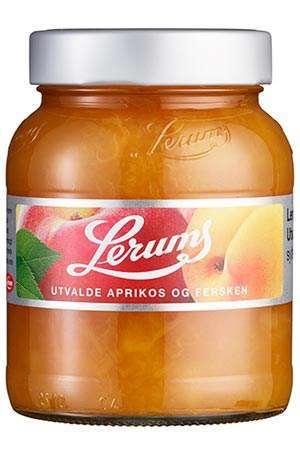 Bilde av Lerums utvalde aprikos og fersken.