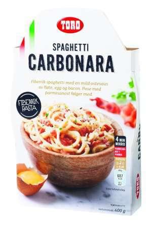 Prøv også Toro Velbekomme Spagetti Carbonara.