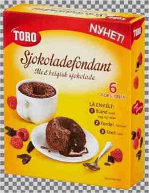 Prøv også TORO sjokoladefondant.