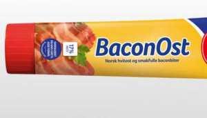 Prøv også Kavli baconost tube.
