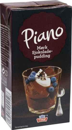 Prøv også Tine Piano Mørk Sjokoladepudding.