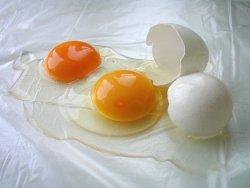 Prøv også Eggehvite, rå.