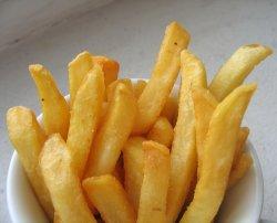 Prøv også Pommes frites, gatekjøkken.