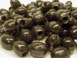 Bilde av Oliven, sorte, i olje, hermetisk.