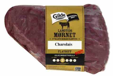 Bilde av Gilde Langtidsmørnet Flatbiff av utvalgte norsk kjøttfe.