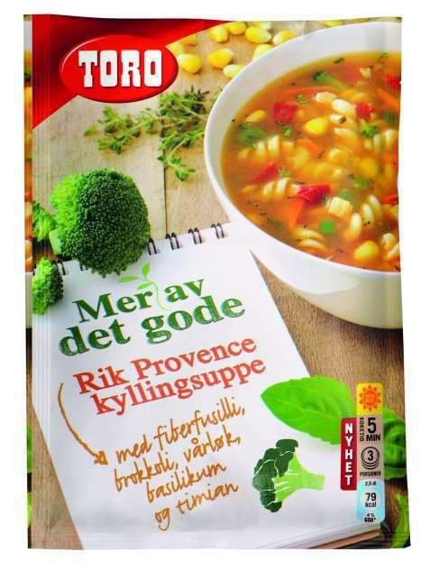 Bilde av Toro Rik Provence kyllingsuppe.