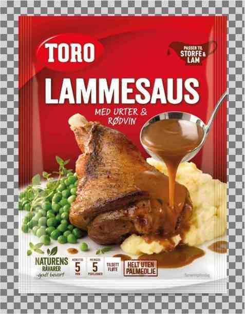 Bilde av Toro lammesaus med urter og rødvin.