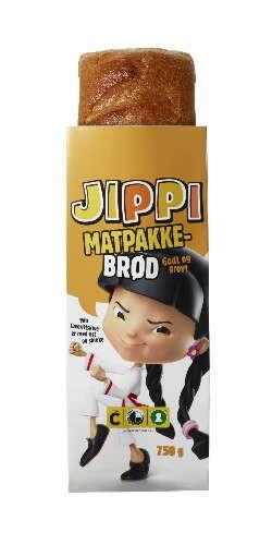 Bilde av Bakehuset Jippi matpakkebrød skåret.