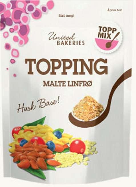 Bilde av Toppmix topping malte linfrø.