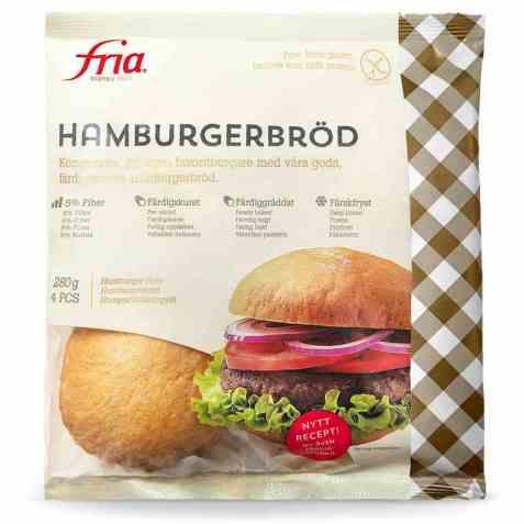 Bilde av Fria Hamburgerbröd.