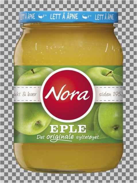 Bilde av Nora eplesyltetøy.