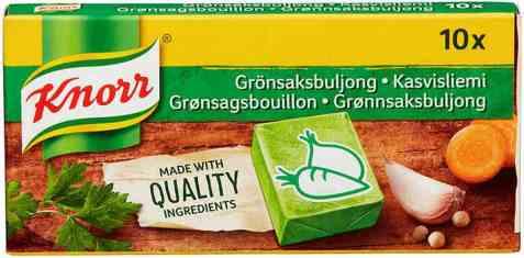 Bilde av Knorr grønnsaksbuljong.