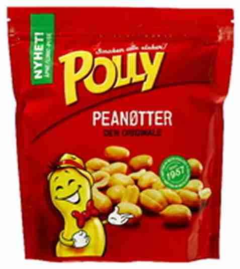 Bilde av Polly peanøtter salte.